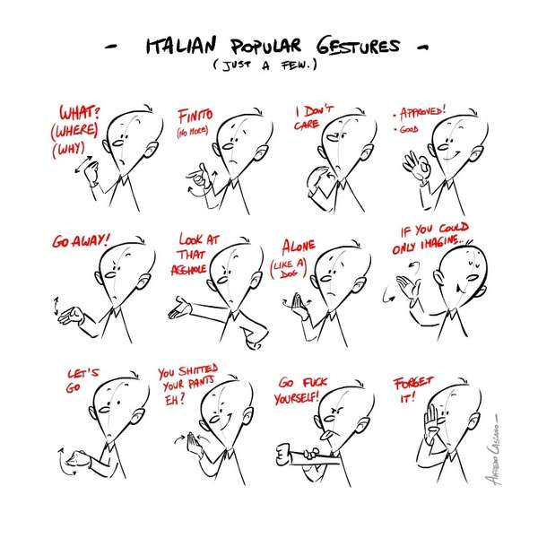 Culturally Comical Communications : Hand Gestures