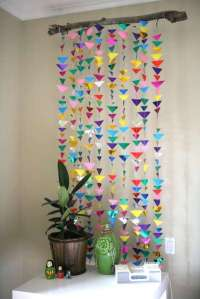 DIY Hanging Origami Decor : Hanging Origami Decor