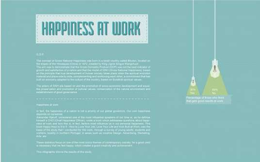 Happiness Encouraging Work Infographics Happiness In The