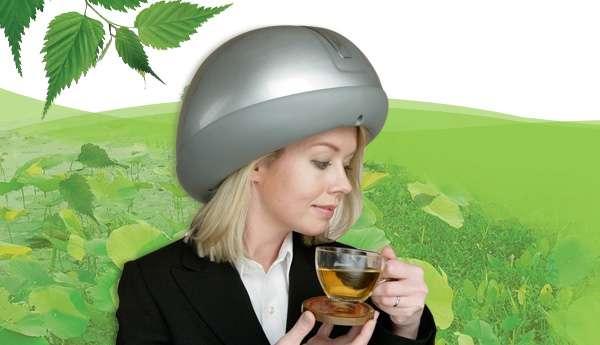Massaging Helmets The Headtime Scalp Massager by Kinatech