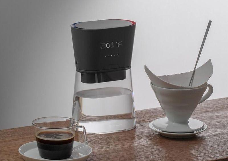 kitchen countertop trends resurfacing instantaneous heating water kettles : heatworks duo carafe