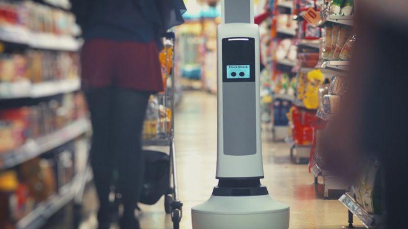 SupermarketStocking Robots  help grocery stores