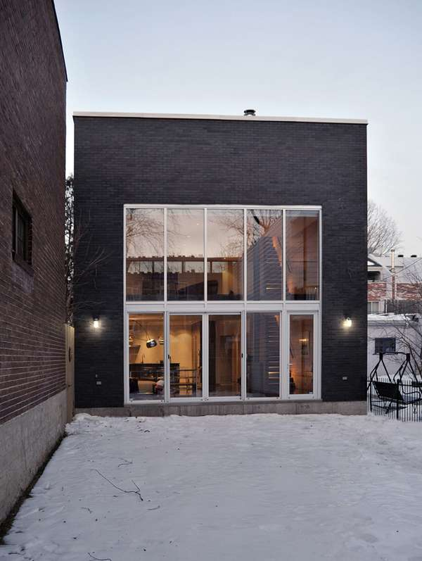Modern Montreal Homes Henri Cleinge Updates a Historic 200YearOld Residence