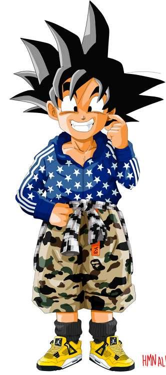 Sneaker Girl Wallpaper Fashionable Anime Characters Hmn Alns Dragon Ball Z