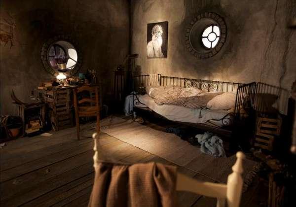3d Fall Ceiling Wallpaper Cozy Fantasy Abodes Hobbit Hole Bedroom