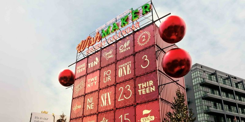 Shipping Container Calendars Holiday Giveaway