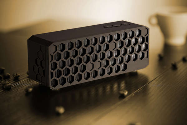 Bee Hive Sound Systems  Honeycomb Bluetooth Speaker