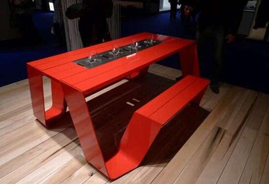 Modernized Picnic Tables Hopper Collection
