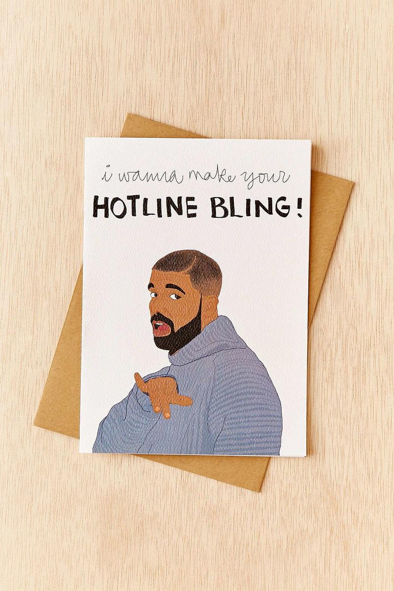 Viral Rapper Valentines Hotline Bling Valentine