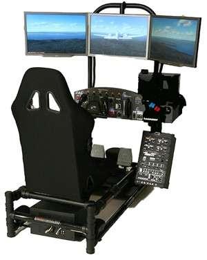 Personal Flight Simulator HotSeat Chassis
