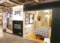Miniscule Model Apartments : IKEA 391 Square Foot