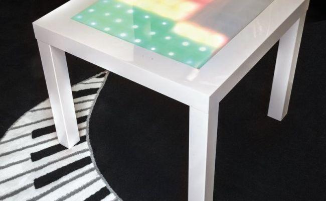 Diy Music Visualizer Furniture Ikea Coffee Table