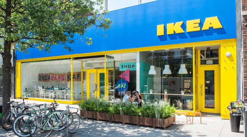 Furniture Brand Popup Shops  Ikea Play Cafe
