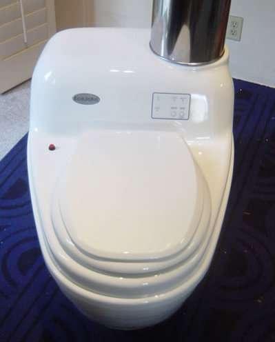 Incinerating Waterless Toilets The EcoJohn Senior