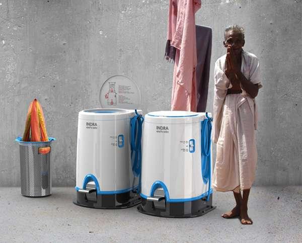 Manual Laundering Aids Indra Washing Machine