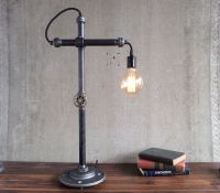 Bare Bulb Desk Lamps : Industrial Style Work Light by ...
