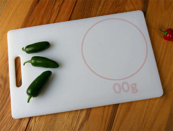 Cutting Board With Measurements