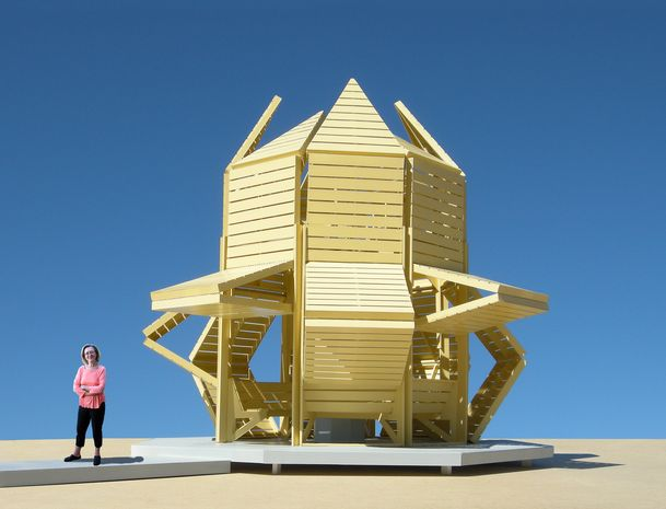 Shape Shifting Pavilions Interactive Architecture