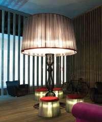 Oversized Lampshade Furnishing : Italamp