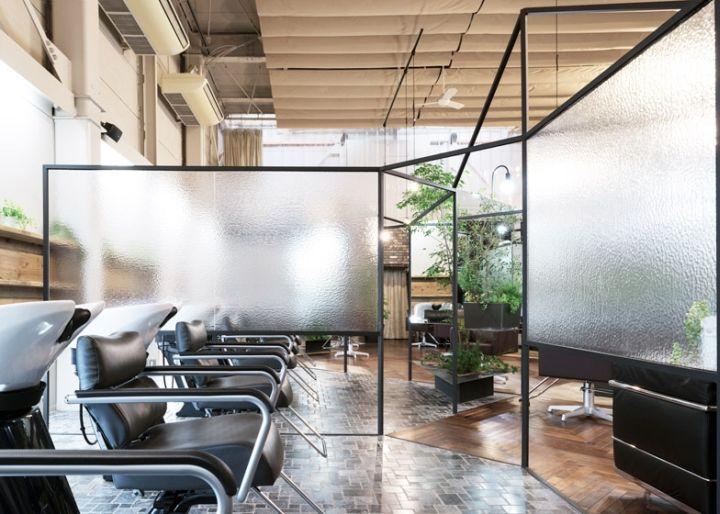 Shrouded Salon Interiors  Japanese Salon