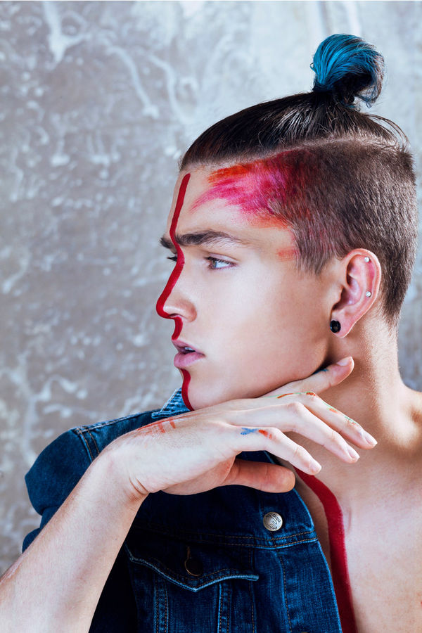 Edgy War Paint Editorials Jeremy Stor