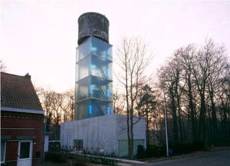 Domestic Water Towers  Jo Crepain Architect
