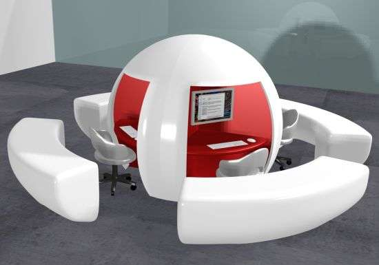 EggShaped Workstations Job Buenazedacruzs Design for a