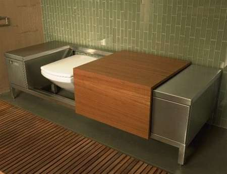 The Bench Toilet Troy Adams Luxury Loo