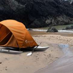 Fishing Chair Tent Game Tables And Chairs Hybrid Kayak Shelters: Kahuna Adventure Makes Camping Sleek