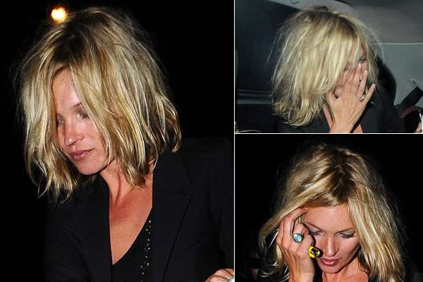Disheveled Chic Hair Kate Moss Sexy Bed Head Haircut