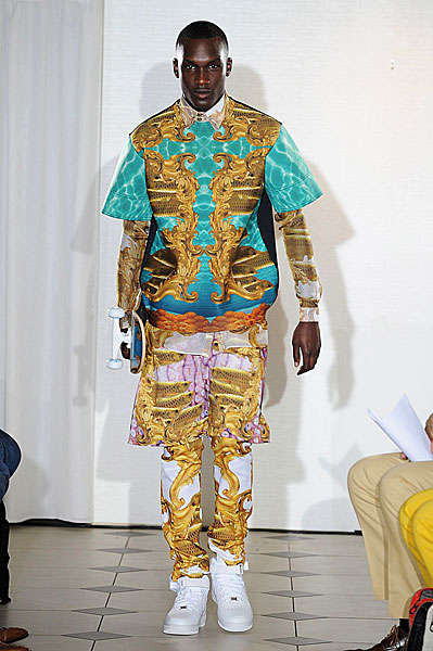 Gaudy Kaleidoscope Collections Katie Eary Spring Summer 2013