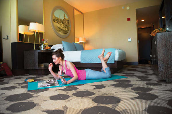 Unorthodox Yoga Hotel Programs  Kimpton Yoga Mat in Every Room
