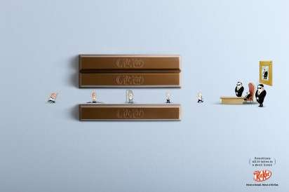Attitude Changing Chocolate Ads Kit Kat Ad Campaign
