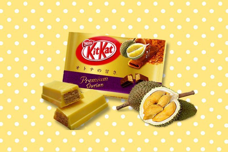 Exotic FruitFlavored Chocolates  kit Kat chocolate bar