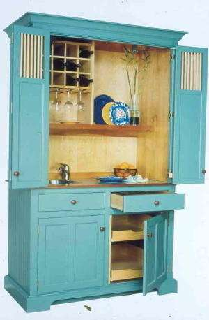 Secret Compartment Cabinets Compact Culinary Cabinetry Conceals Cooking Clutter