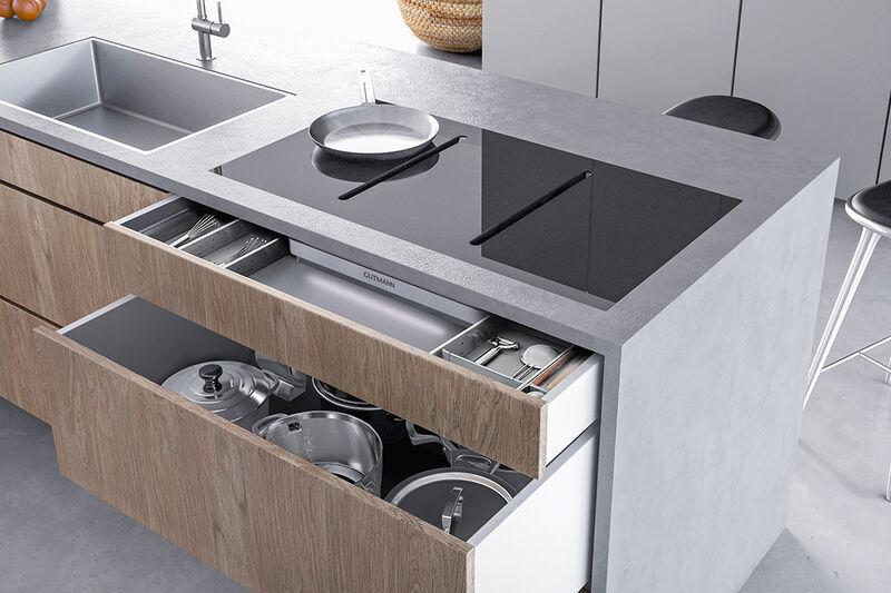 hidden cooktop exhaust fans kitchen