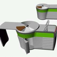 Portable Kitchen High End Knives Kitchens Dzmitry Samal S For Singles Rotates