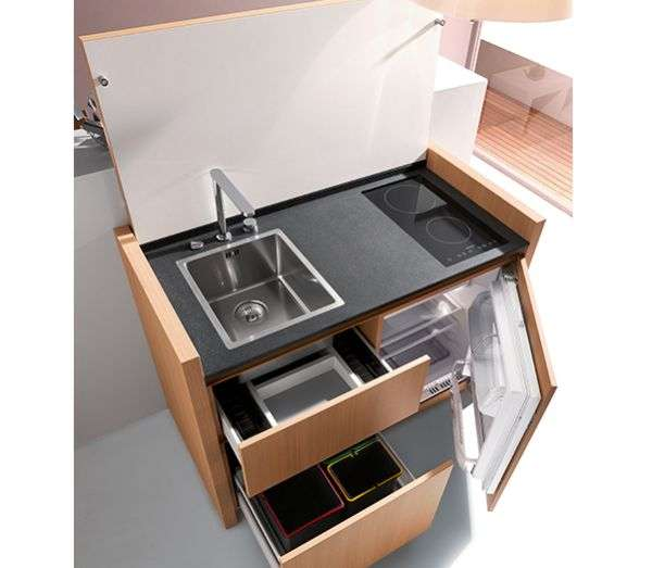 Compact Culinary Workspaces  Kitchoo K1