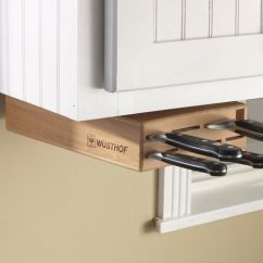 Kitchen Knife Storage Cabinets Design Ideas Discreet Blocks