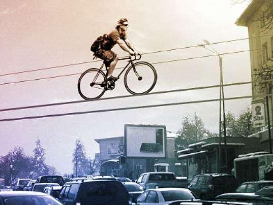 Elevated Bike Rails Martin Angelov Proposes Kolelinia