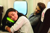 Ergonomic Airplane Pillows : Kooshy Travel Pillow