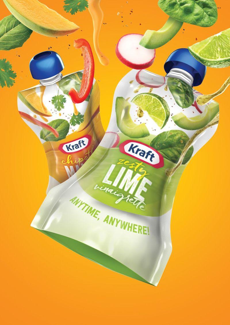 Salad Dressing Pouch Packaging  Kraft Dressings