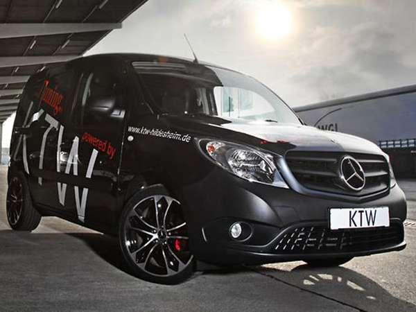 TrickedOut Cargo Vans  KTW MercedesBenz Citan
