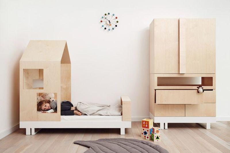 modern architecture child beds