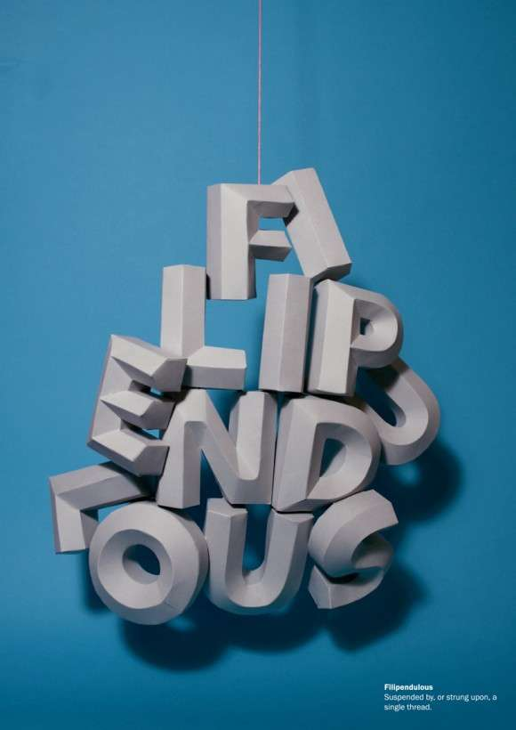 3D Visual Words Lauren Duly Gives Literal Definitions
