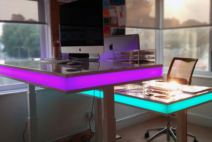 LED Standing Desks  LED standing desk