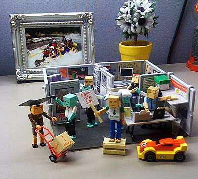 office chair good design high tray hardware lego cubicles: mini playset lets you scream,
