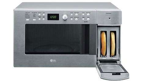 combination microwave toasters lg s