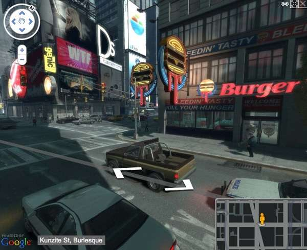 Video Game Mapping Systems Liberty City Map
