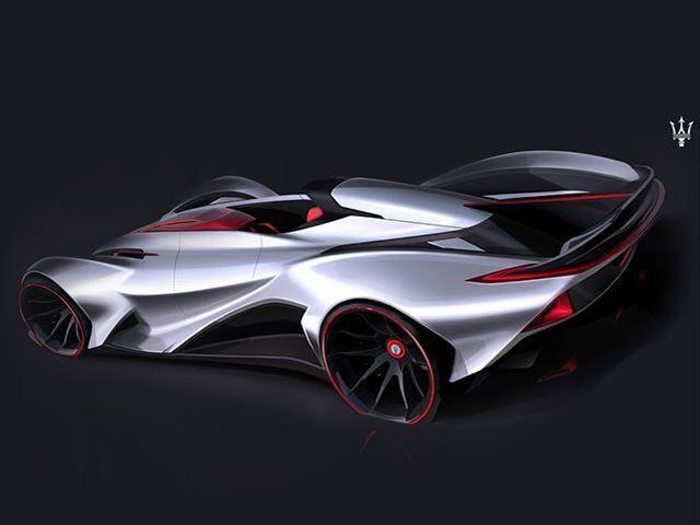Soccer Star Supercar Concepts Lionel Messi Maserati Concept